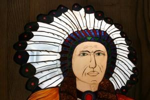indien sioux 2(encadrement bois)