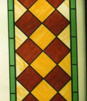 vitrail géométrique 1