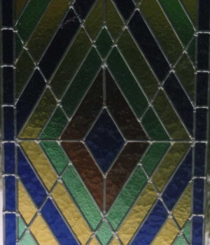 vitrail géométrique